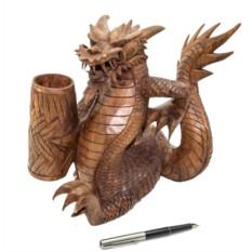 Подставка для письменных приборов Дракон