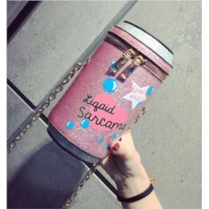 Розовая мини-сумочка Банка