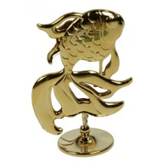 Декоративная фигурка Золотая рыбка