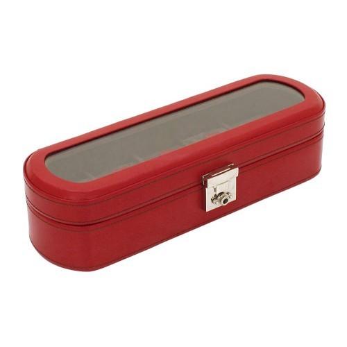 Красная шкатулка для 5 часов