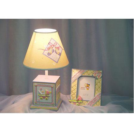 Лампа настольная «Коляска»