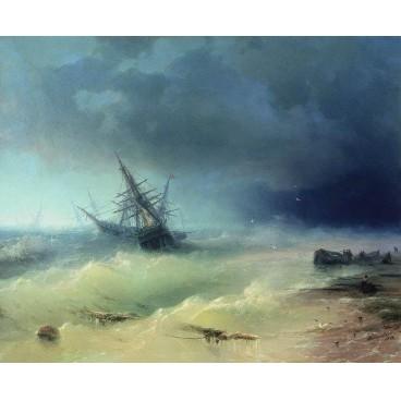 Репродукция картины Буря