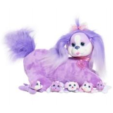 Мягкая игрушка Собачка Кэнди и ее щенки