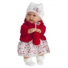 Озвученная кукла-малыш Азалия в красном