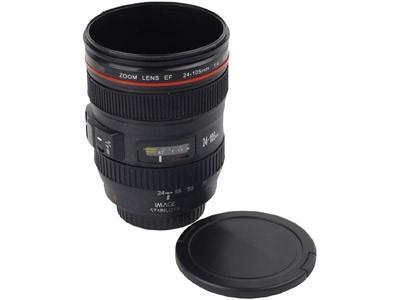 Кружка на 350 мл в виде объектива фотокамеры