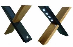 Настольная лампа на солнечных батареях «Сфинкс»