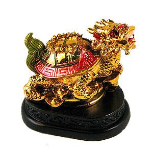 Фигура на подставке «Дракон-черепаха»