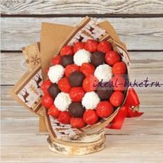 Букет конфет Зимний десерт