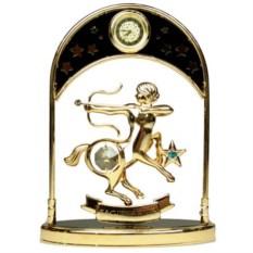 Декоративная фигурка с часами - знак Зодиака Стрелец