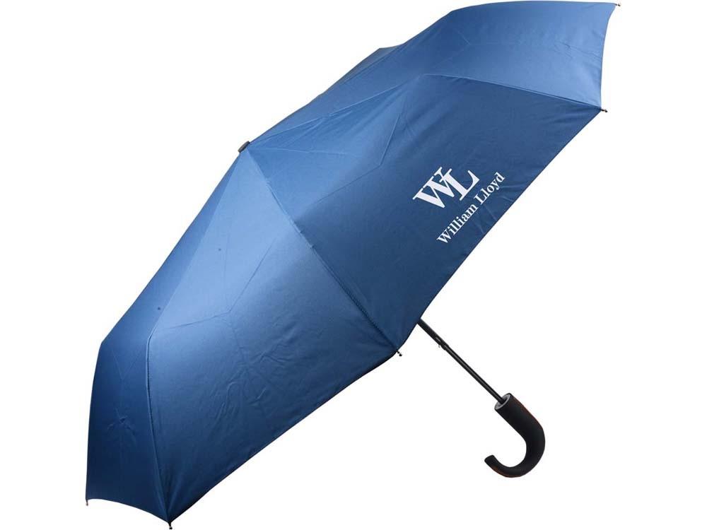 Синий складной зонт-полуавтомат Liberty