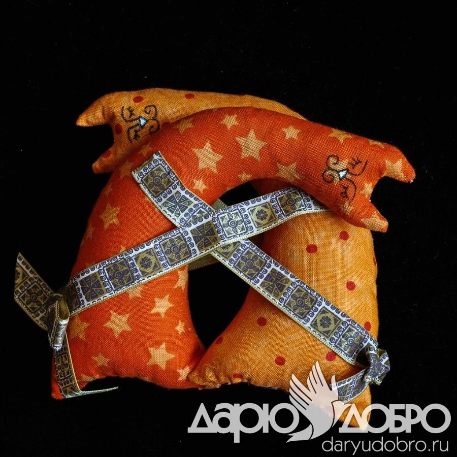 Декоративное саше с лавандой Парочка кошек ART-SCP04