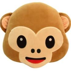 Подушка Emoji Monkey