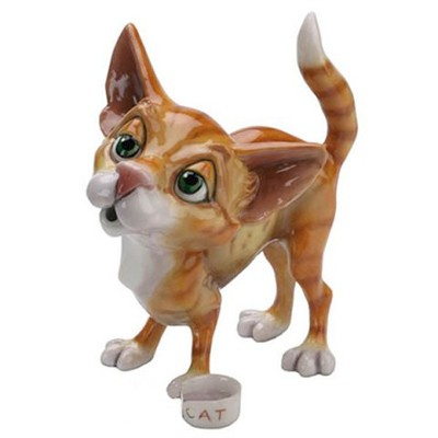 Фарфоровая фигурка котёнка Lisa