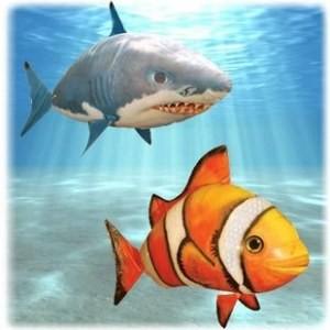 Air swimmers Комбо — Акула и Рыба-Клоун
