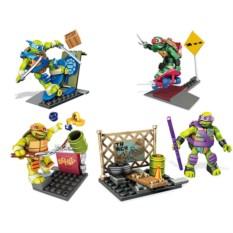 Конструктор Mattel Mega Bloks Тренировка черепашек