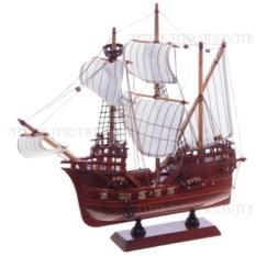 Корабль, длина 34см