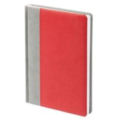 Недатированный ежедневник Norma (цвет — серо-красный)