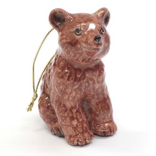 Елочная игрушка Лесной медвежонок