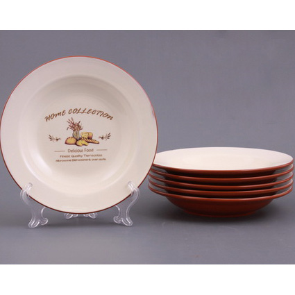 Набор глубоких тарелок из 6 штук «Деликатес»