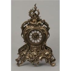 Каминные часы с узором