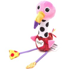 Погремушка Lamaze Веселый розовый фламинго