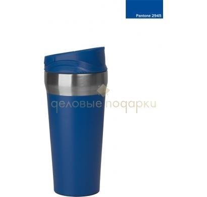 Синий термостакан с присоской Константа
