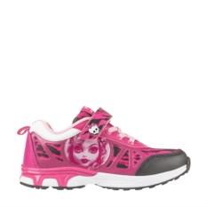 Розово-серые кроссовки для девочки Monster High