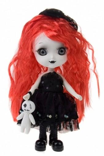 Декоративная кукла Ведьмочка с рыжими волосами