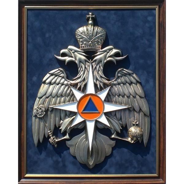 Панно с символикой МЧС (45х56 см)