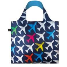 Складная сумка Loqi Airport Airplane