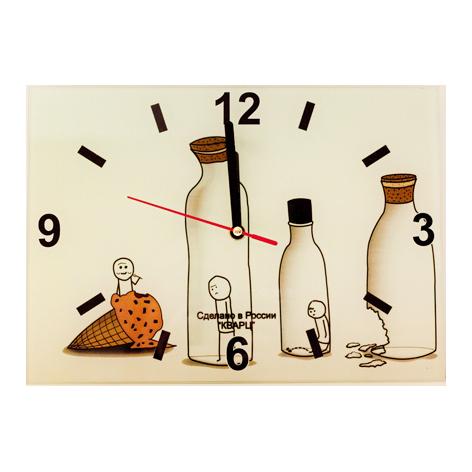 Настенные часы «Никогда не сдавайся!»