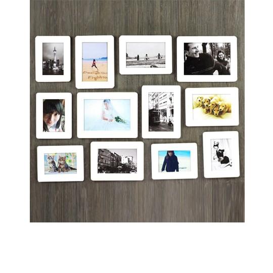 Набор фоторамок Sandwich Wall-Deco 12p - Ivory