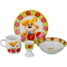 Наборы детской посуды Щенок