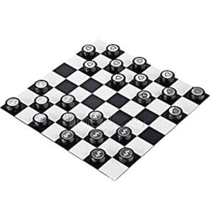 Набор для игры в шашки «Любовь и деньги»