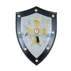 Рыцарский щит Крест рыцарей Тамплиеров