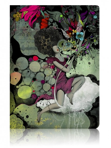 Обложка для паспорта Girl & Cloud