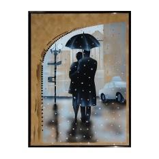 Картина Swarovski Под зонтом