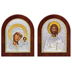 Иконы на свадьбу, венчание Казанская Божья Мать, Спаситель