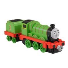 Машинка Thomas&Friends Паровозик Генри с прицепом Mattel