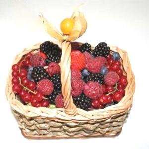 Корзина с фруктами «Дюймовочка»
