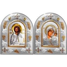 Венчальные иконы Спас Вседержитель и Казанская Божья Матерь