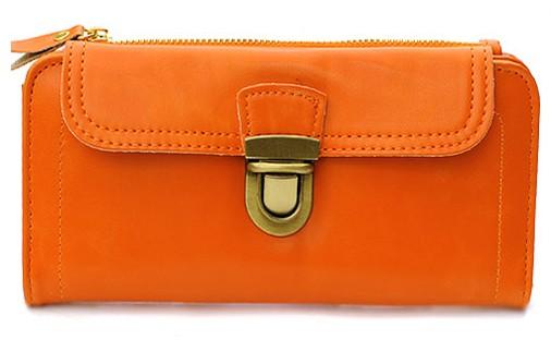 Оранжевый кошелек Vintage
