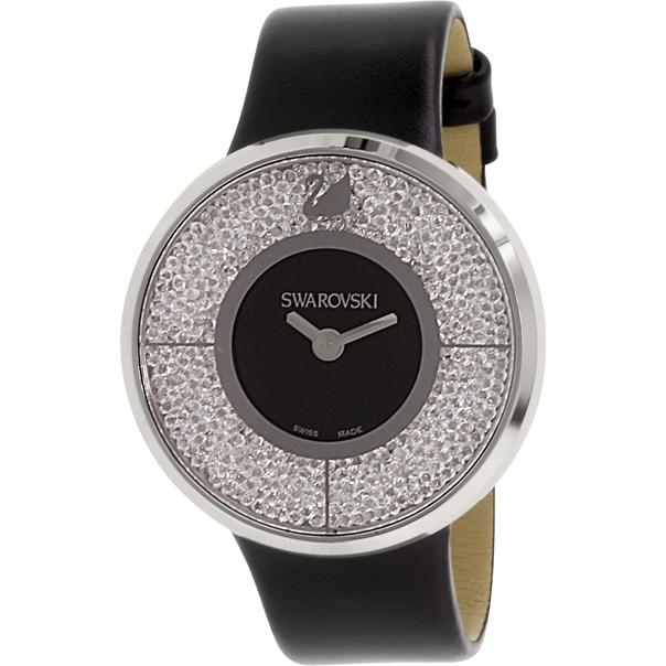 Часы из нержавеющей стали Crystalline Black