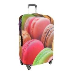 Большой чехол для чемодана Travel Macaroni