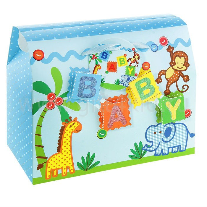 Подарочная коробка-сундучок Baby мини