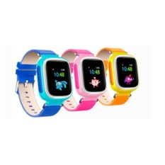 Умные детские часы с GPS Q60S Smart Baby Watch (розовый)