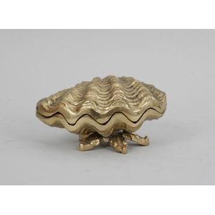 Шкатулка для украшений из бронзы Virtus  «Ракушка»