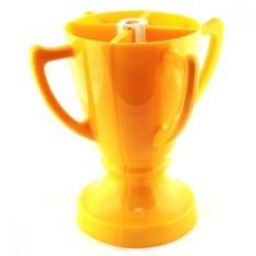 Желтый набор из 4 бокалов Кубок