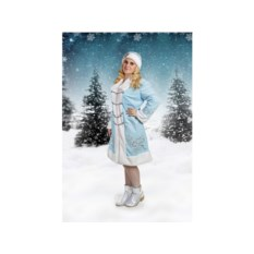 Новогодний костюм с вышивкой Снегурочка