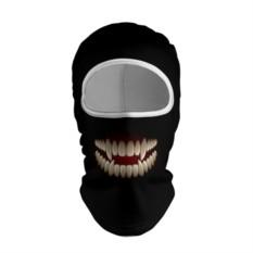 Балаклава с 3D принтом Зубы монстра